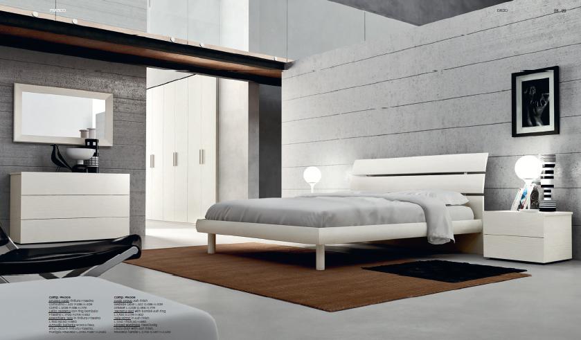 camera da letto moderna ispirazione design casa