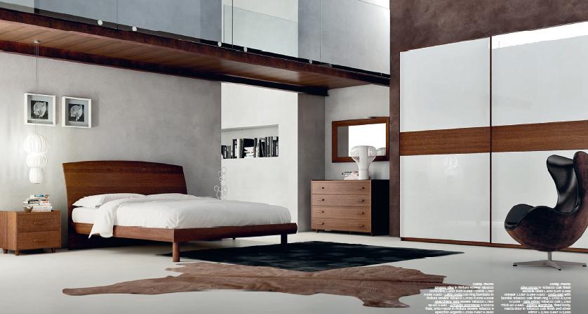 Camere da letto moderne marroni idee di design nella for Piani casa 6 camere da letto